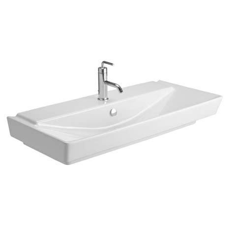 kohler wall hung sink kohler reve wall mounted ceramic bathroom sink in white