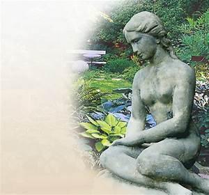 Regenwürmer Kaufen Garten : stilvolle skulpturen garten sandstein stein ~ Lizthompson.info Haus und Dekorationen