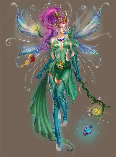 Fairy Queen by Queen Of Fairies By Trassnick On Deviantart