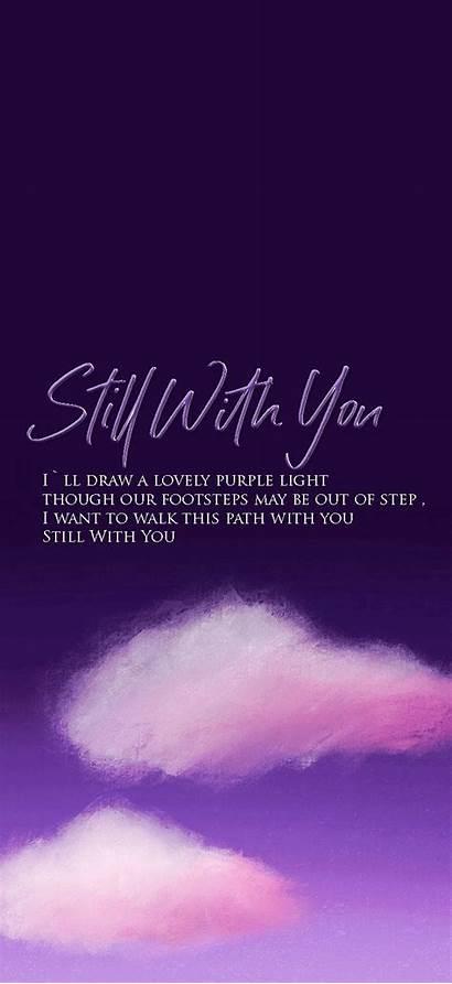 Purple Quotes Iphone Bts Lyrics Song Lyric
