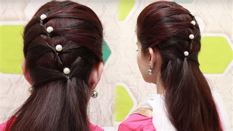 quick hairstyles for long hair tutorial simple