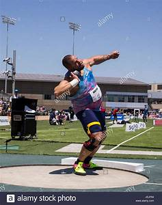 Sacramento, CA. 25th June, 2017. Men's Shot Put Ryan ...