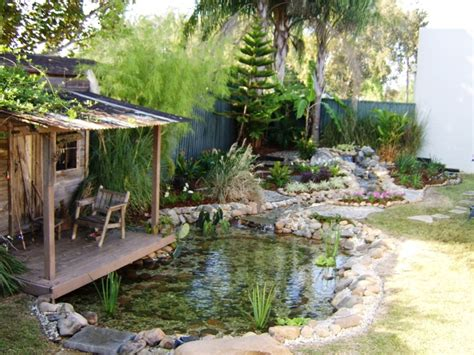 The Idea Of Diy Pond Fountain For Cooling Effect In Your