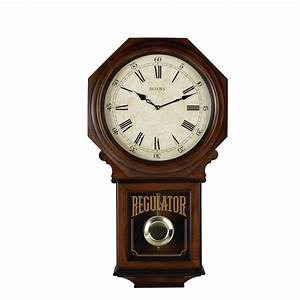 Bulova Regulator Wall Clock