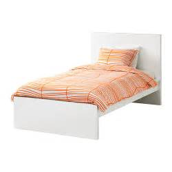 Malm bed frame high white lur?y standard single ikea
