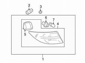 Mazda 6 Turn Signal Light Socket  On Body  Signal