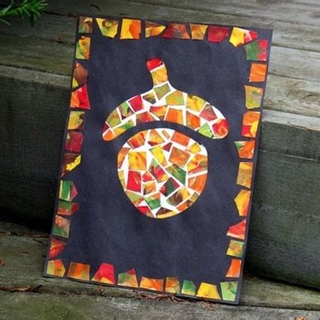 fun fall crafts  kids diycandycom