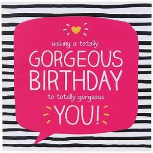 Happy Jackson Gorgeous You Birthday Card Temptation Gifts