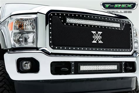 t rex ford duty torch series led light grille 1 30