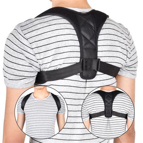 2021 Brace Support Belt Adjustable Back Posture Corrector ...