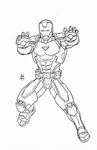 Iron Man Coloring Pages Getcoloringpagescom