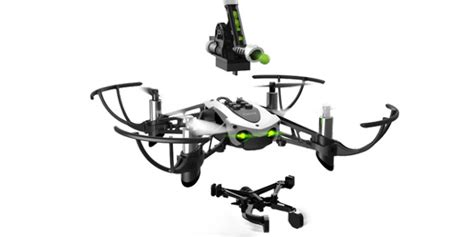 parrot mambo drone  pick  objects shoot balls robotic gizmos