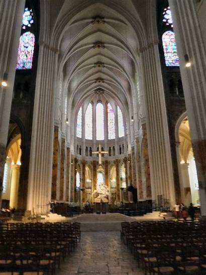 Cathedral Chartres Altar Nave Paris