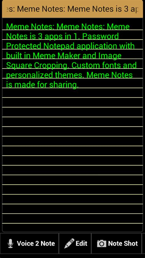 Notepad Meme - meme notes 3 apps in 1 android apps on google play