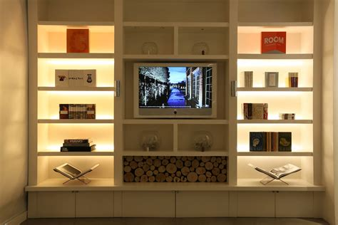livingroom shelves our top shelf lighting tips ideas and products