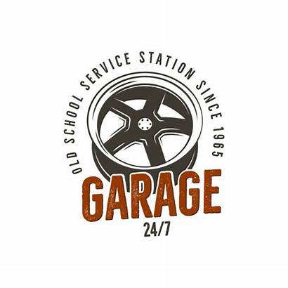 Garage Repair Station Graphics Label Complete Tee