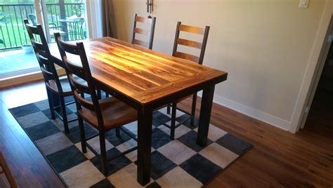 modele de table de cuisine en bois table de cuisine en bois table de cuisine sur mesure de