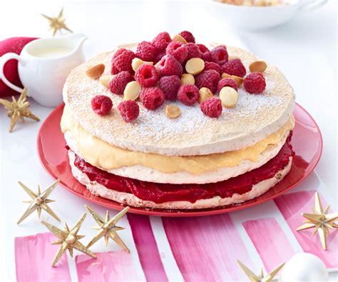 dessert a la framboise recette gourmande gateau meringu 233 224 la cr 232 me de framboise