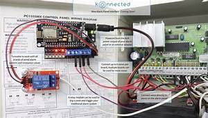 New Product  Konnected Alarm Panel Interface Connects In