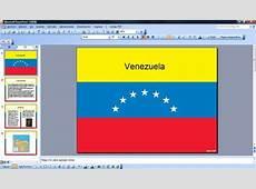 Bandera de Venezuela PowerPoint Plantillas PowerPoint Gratis