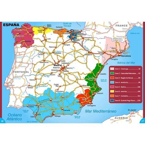 Cote Atlantique Espagne Carte by Cing Car Aires Parkings Gratuits Cings Guide