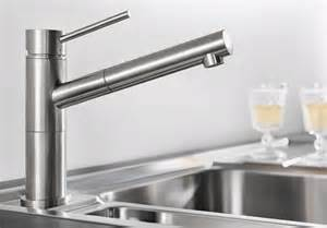 3 kitchen faucet blanco alta s compact armatur edelstahl gebürstet
