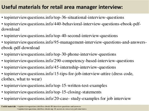 Retail Questions by Top 10 Retail Area Manager Questions And Answers