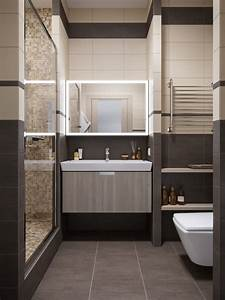 creating a minimalist bathroom design on small room ward With salle de bain moderne petit espace