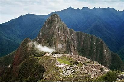 Machu Picchu Mountain South Travel America Peru