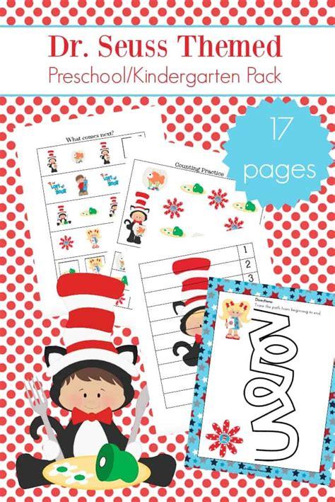 printable dr seuss activities for kindergarten and preschool 885 | dr seuss activities for kindergarten
