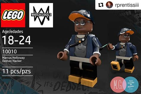 Watch Dogs 2 Wrench Wallpaper Marcus Holloway Lego By Twitte0king On Deviantart