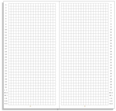 bullet journal template my all in one place free bullet journal insert for your midori traveler s notebook