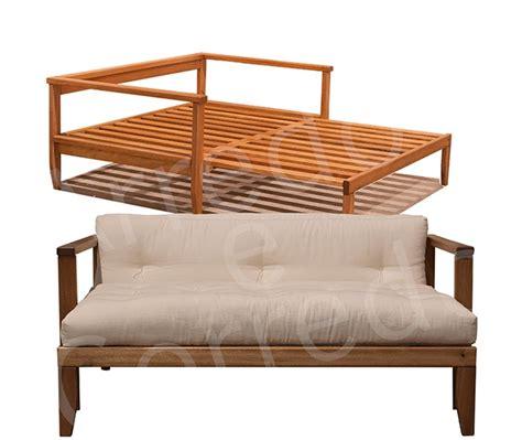 futon letto divano letto in legno scivolo con futon arredo e corredo