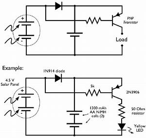 simple solar circuits evil mad scientist laboratories With solar garden light wiring diagram