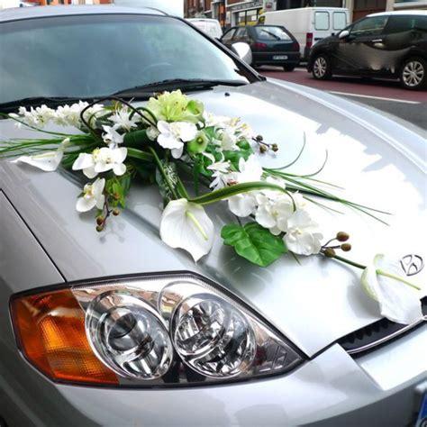 composition florale pour votre voiture de mari 233 e en fleurs artificielles d 233 coration de voiture