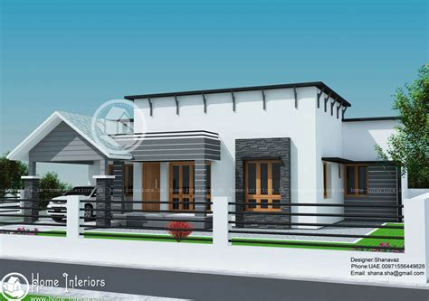 contemporary one house plans 1300 sq ft single floor contemporary home design