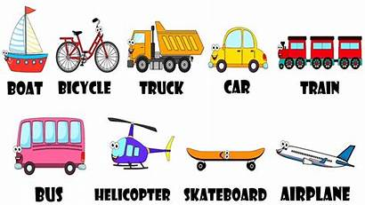 Transportation Vehicles Song Coloring Pages