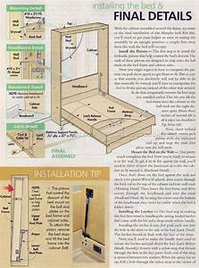 murphy bed plans free - 28 images - diy murphy bed free