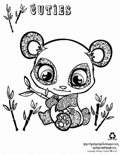 Coloring Panda Pages Cartoon Popular