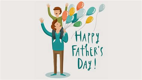 This day celebrates fatherhood and male parenting. Happy Father's Day Latest Wallpaper - WordZz