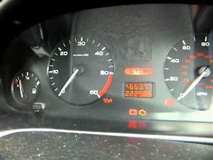 Peugeot 406 Hdi Instrument Cluster Dropping Out