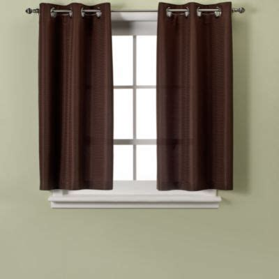 window curtain lengths buy chocolate shower curtain from bed bath beyond