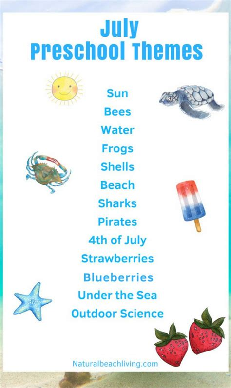 july preschool themes with lesson plans and activities 905 | July Preschool Themes and Activities pin 609x1024
