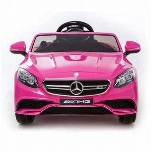 Voiture 1 8 : mercedes s63 amg voiture jouet lectrique pour enfant deux moteurs rose licence mercedes ~ Voncanada.com Idées de Décoration