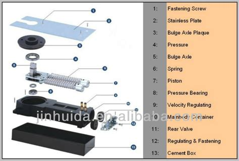 hydraulic 304ss automatic floor from china two way