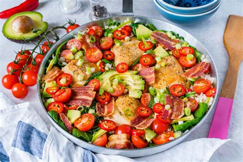Fresh Blt Skillet Recipe For Bacon Lovers Who Eat Clean
