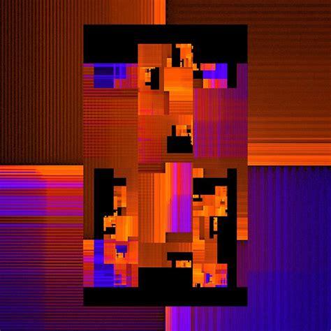 Phone Call Algorithmic Art 1080x1080 Art