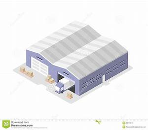 Warehouse clipart distribution center - Pencil and in ...