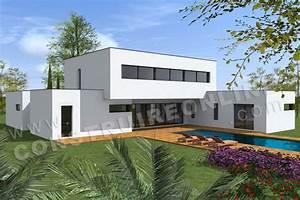 Maison Architecte Plan : plan de maison contemporaine lounge ~ Dode.kayakingforconservation.com Idées de Décoration