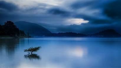 Calm Nature Lake Landscape Water Sunrise Clouds